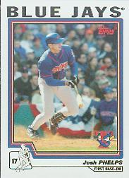 2004 Topps #42 Josh Phelps