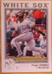 2004 Topps #49 Frank Thomas