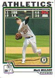 2004 Topps #70 Mark Mulder