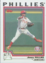 2004 Topps #76 Jimmy Rollins