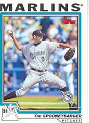 2004 Topps #89 Tim Spooneybarger