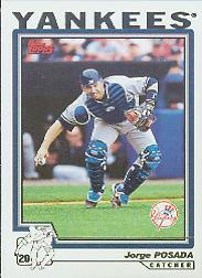 2004 Topps #98 Jorge Posada