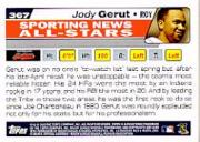 2004 Topps #367 Jody Gerut AS back image