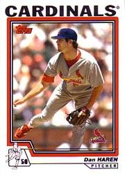 2004 Topps #496 Dan Haren