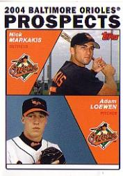 2004 Topps #691 A.Loewen/N.Markakis