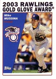 2004 Topps #696 Mike Mussina GG