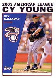2004 Topps #714 Roy Halladay CY