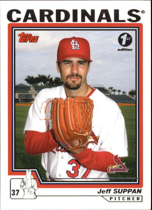 2004 Topps 1st Edition #507 Jeff Suppan