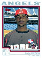 2004 Topps First Year Player Bonus #3 Ervin Santana