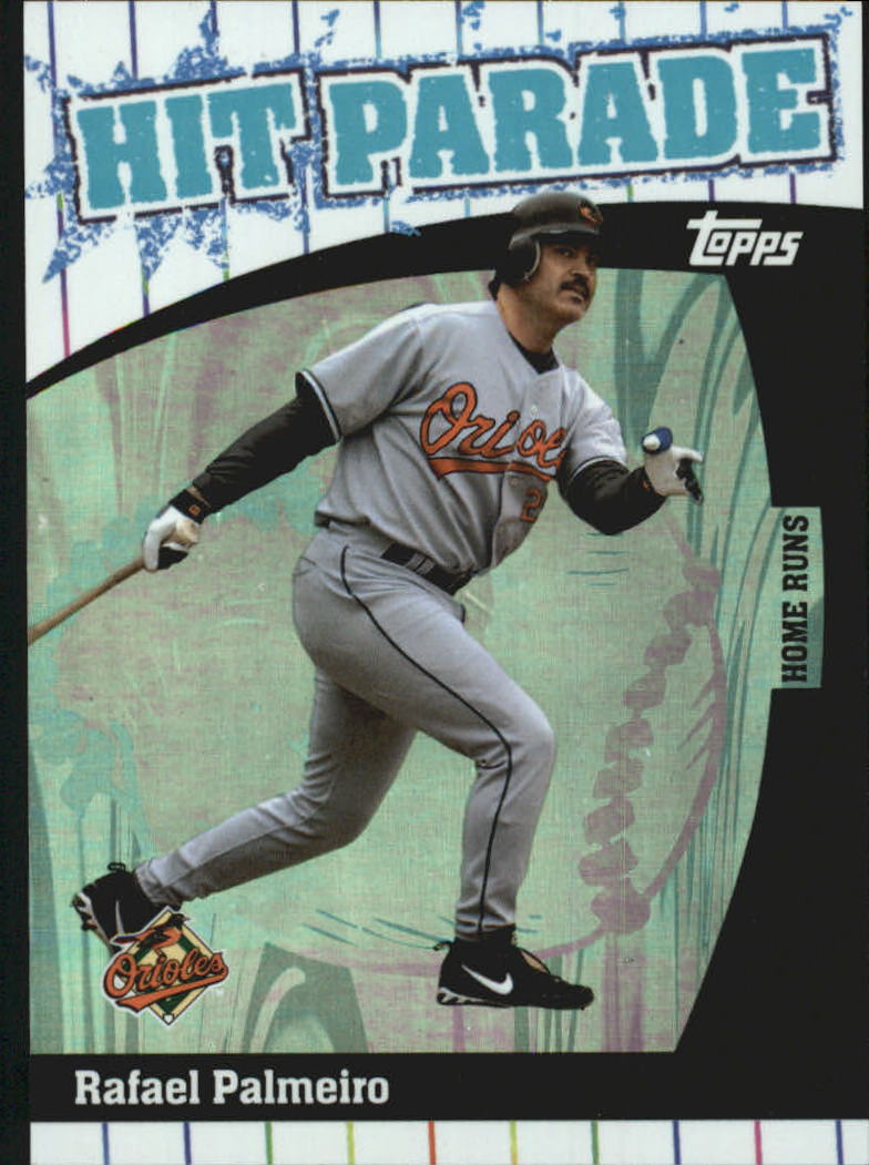 2004 Topps Hit Parade #HP2 Rafael Palmeiro HR
