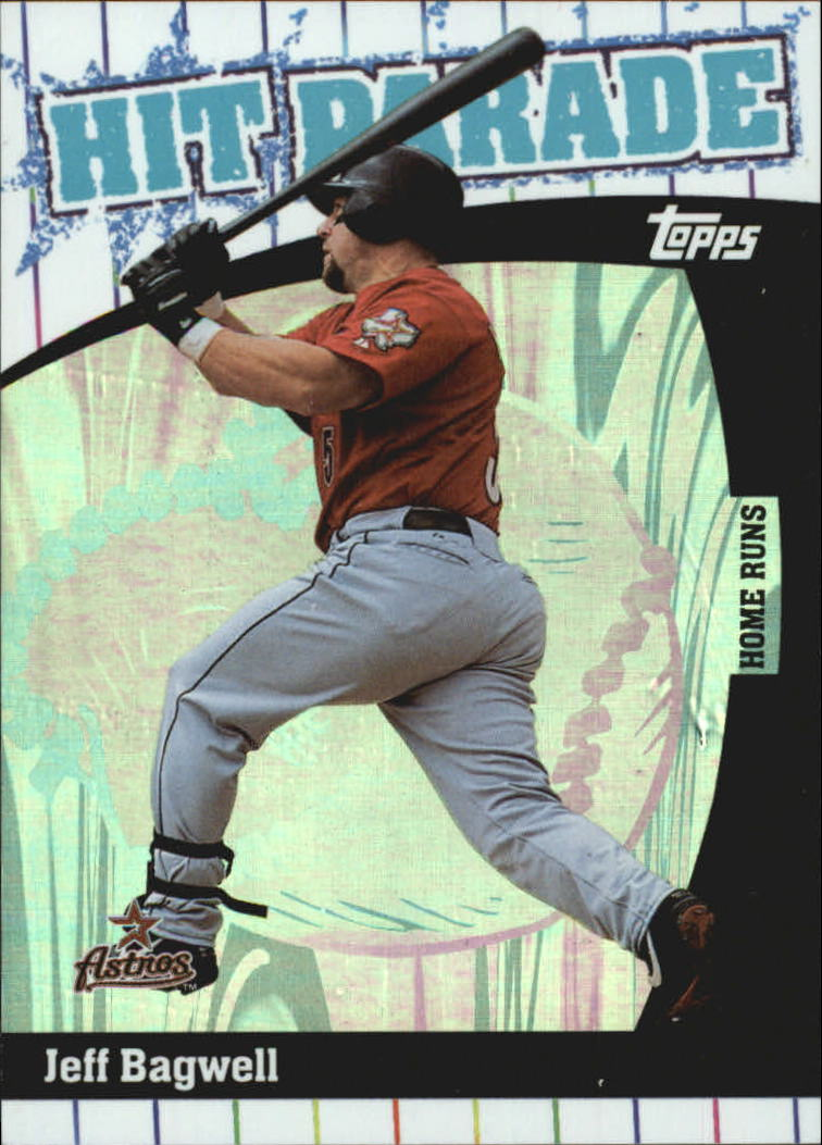 2004 Topps Hit Parade #HP9 Jeff Bagwell HR