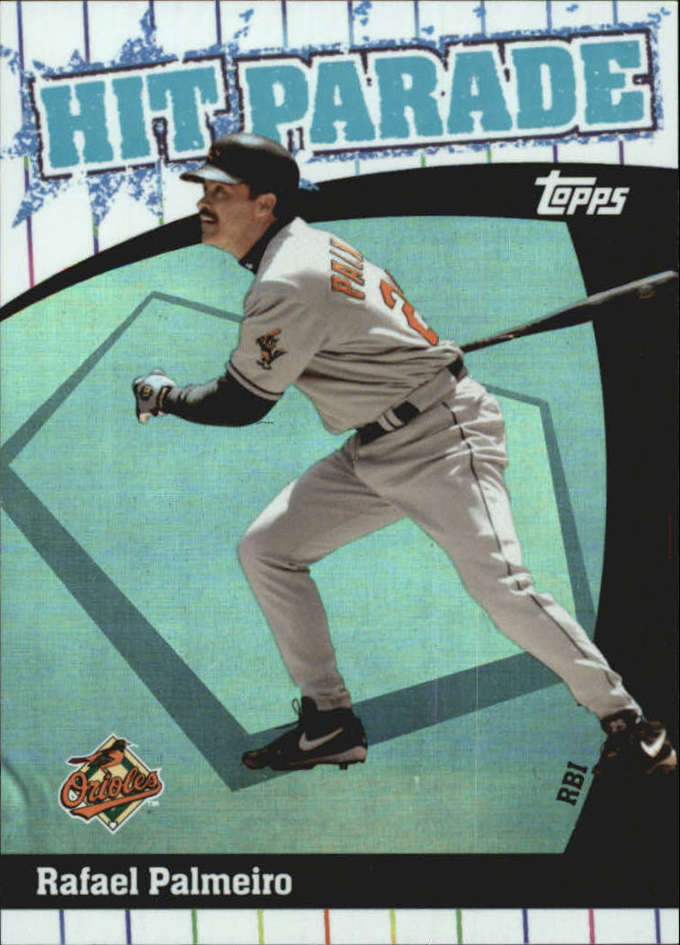 2004 Topps Hit Parade #HP11 Rafael Palmeiro RBI