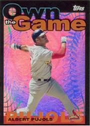 2004 Topps Own the Game #2 Albert Pujols