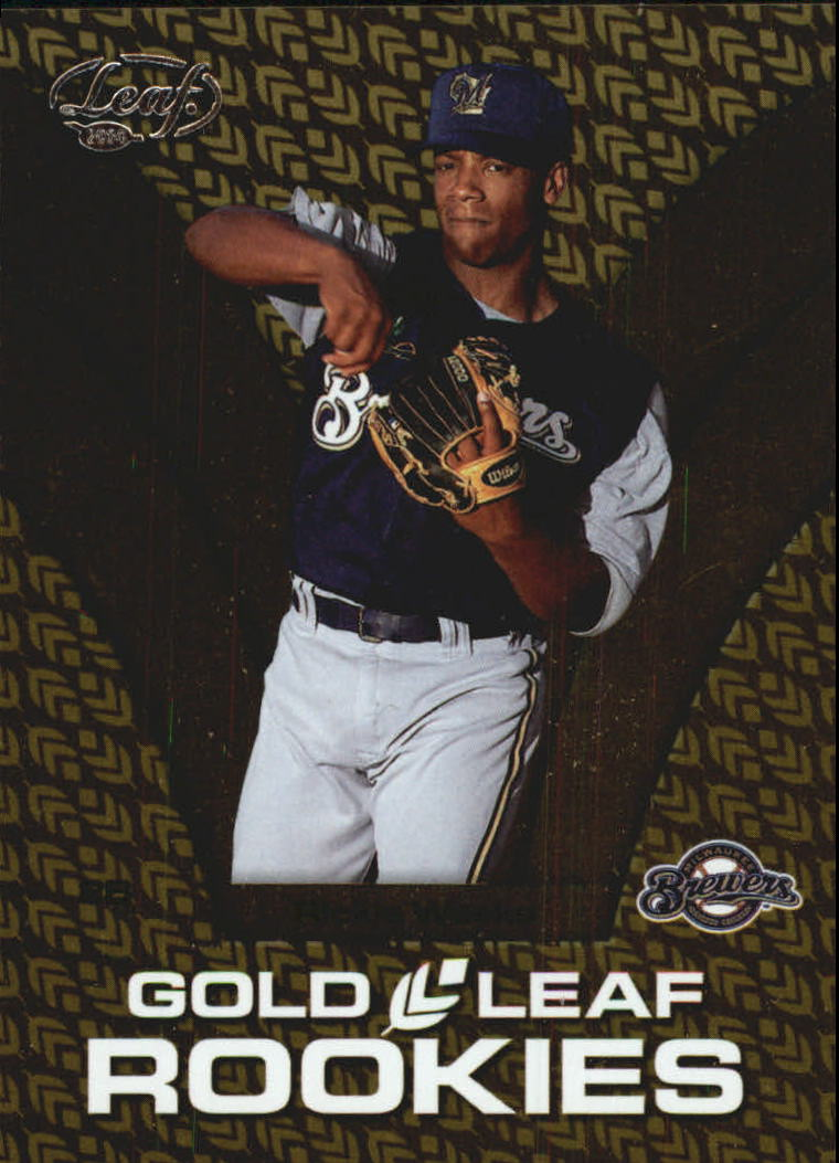 2004 Leaf Gold Rookies #2 Rickie Weeks