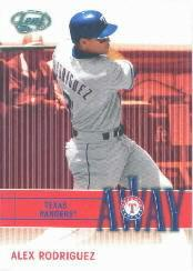 2004 Leaf Home/Away #3A Alex Rodriguez A