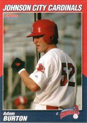 2004 Johnson City Cardinals Choice #17 Adam Burton