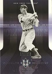 2004 Ultimate Collection #17 Joe DiMaggio front image