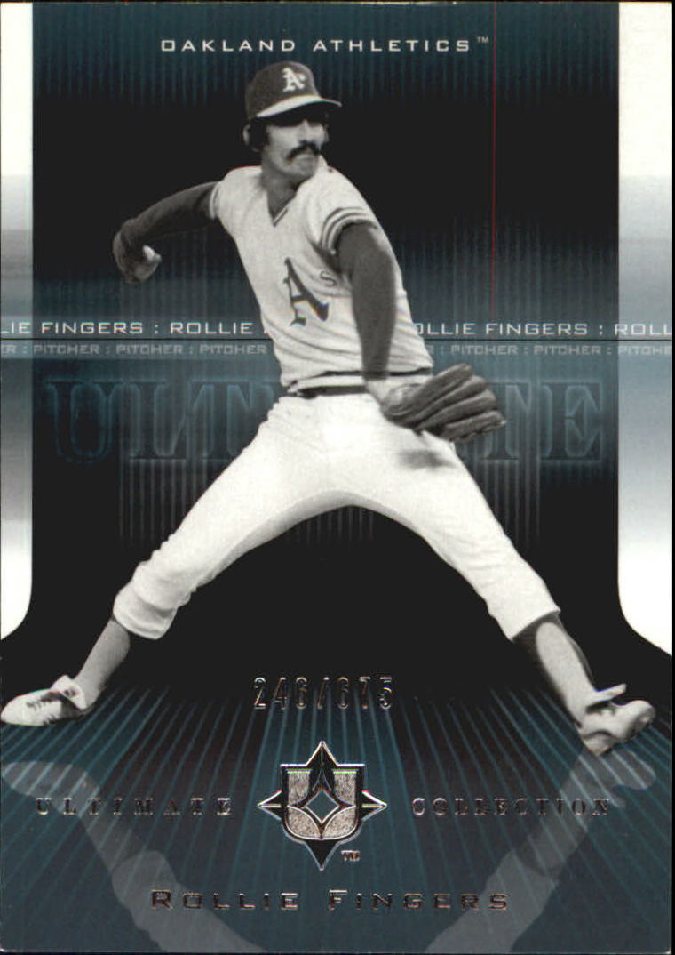 2004 Ultimate Collection #34 Rollie Fingers