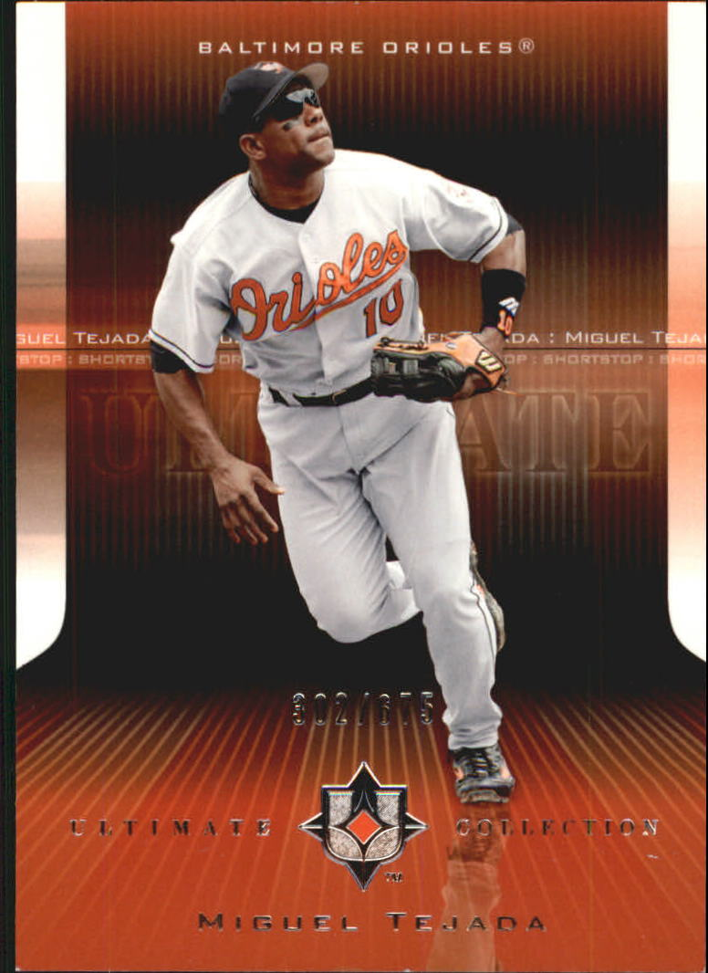 2004 Ultimate Collection #101 Miguel Tejada