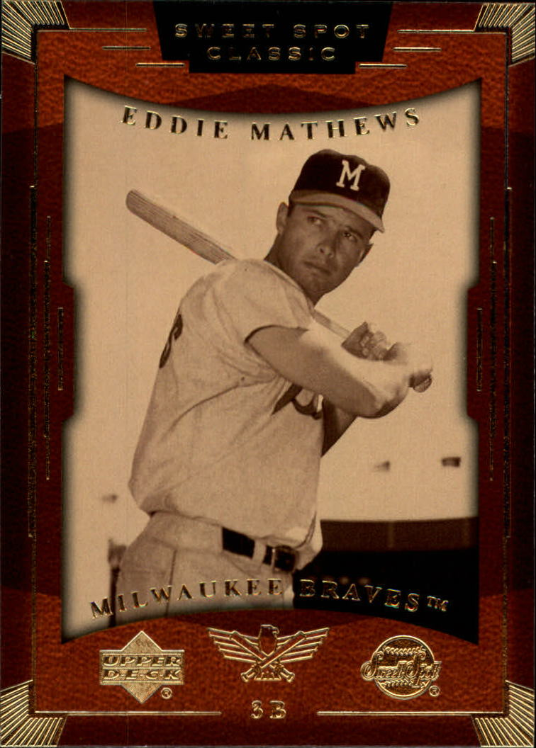 2004 Sweet Spot Classic #27 Eddie Mathews