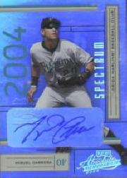 2004 Absolute Memorabilia Signature Spectrum Silver #79 Miguel Cabrera/100