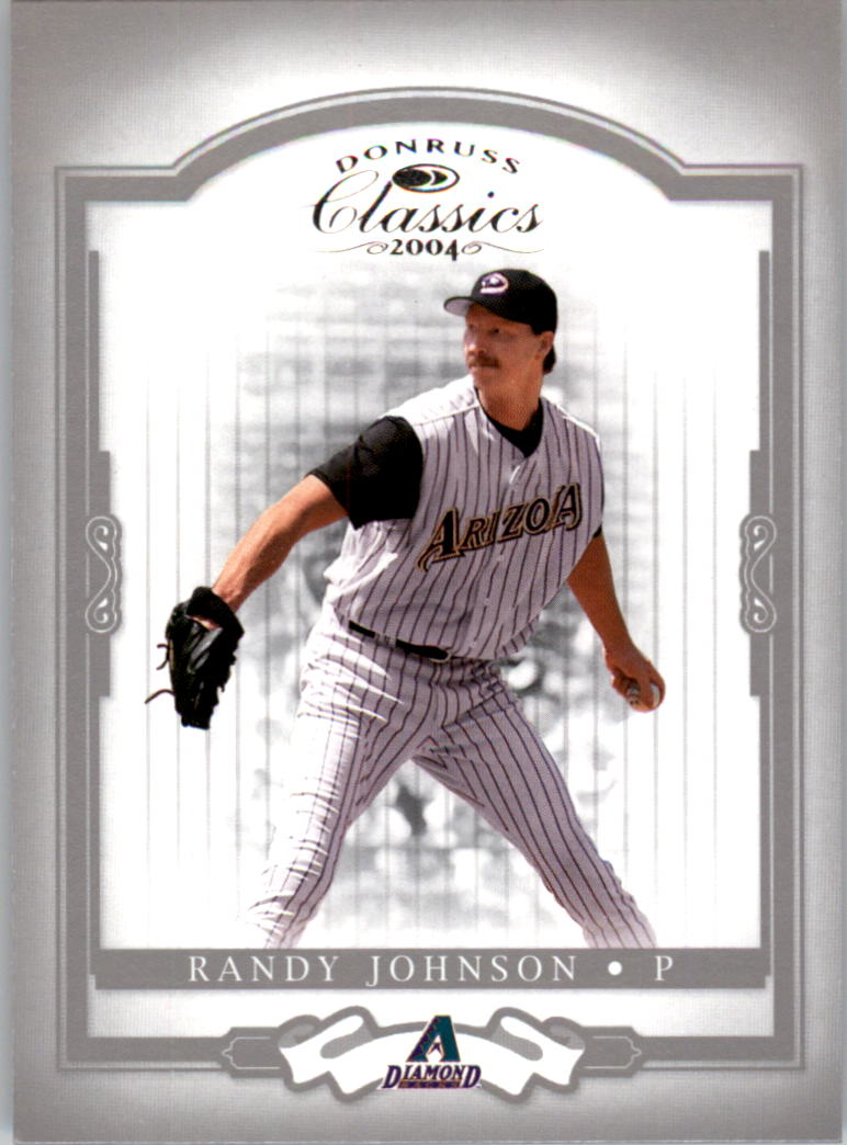 2004 Donruss Classics #48 Randy Johnson