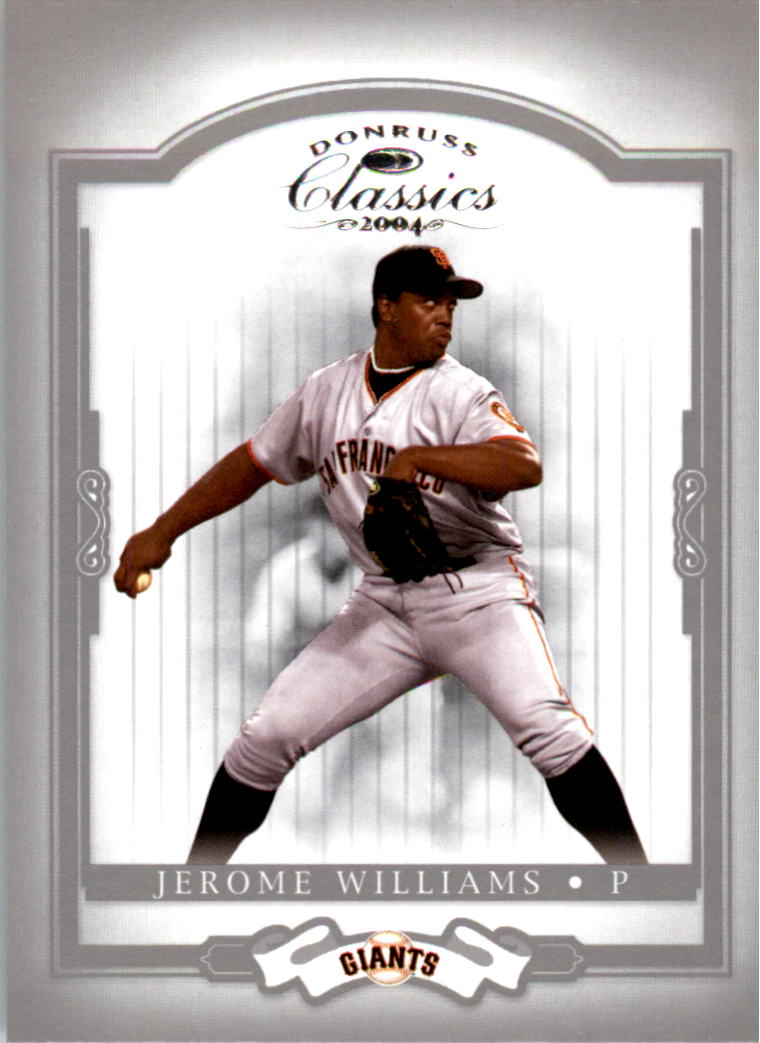 2004 Donruss Classics #66 Jerome Williams