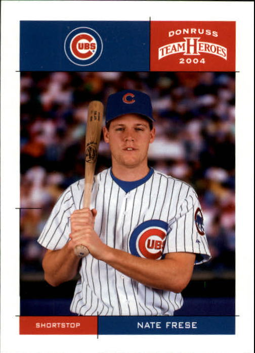 2004 Donruss Team Heroes #71 Nate Frese