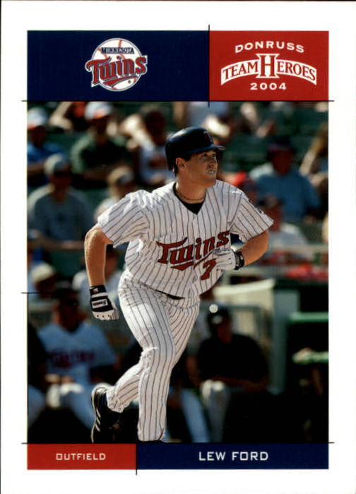 2004 Donruss Team Heroes #237 Lew Ford