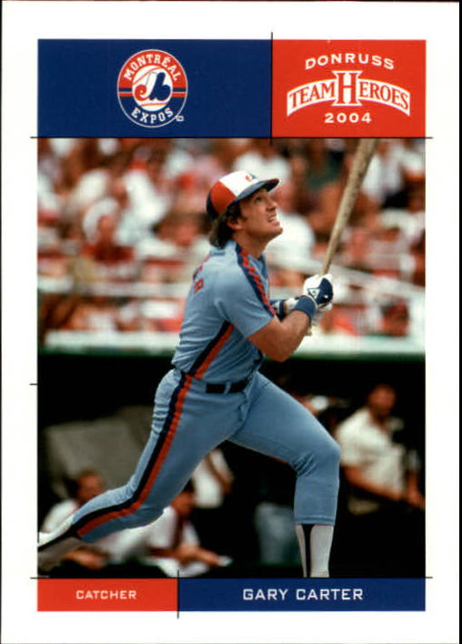 2004 Donruss Team Heroes #260 Gary Carter