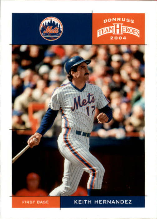 2004 Donruss Team Heroes #276 Keith Hernandez