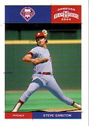2004 Donruss Team Heroes #327 Steve Carlton