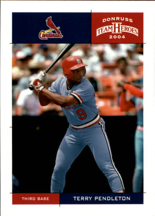 2004 Donruss Team Heroes #397 Terry Pendleton