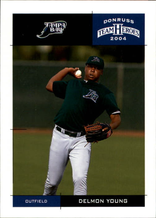 2004 Donruss Team Heroes #407 Delmon Young