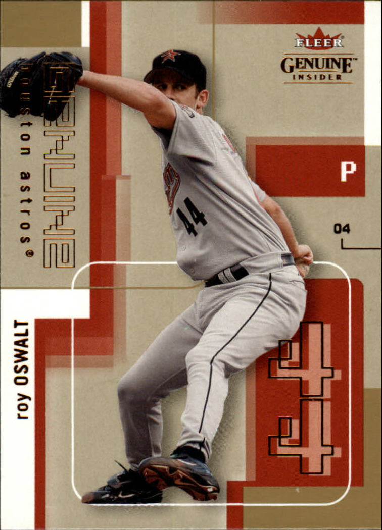2004 Fleer Genuine Insider #45 Roy Oswalt
