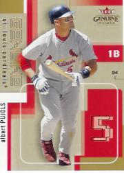 2004 Fleer Genuine Insider #76 Albert Pujols