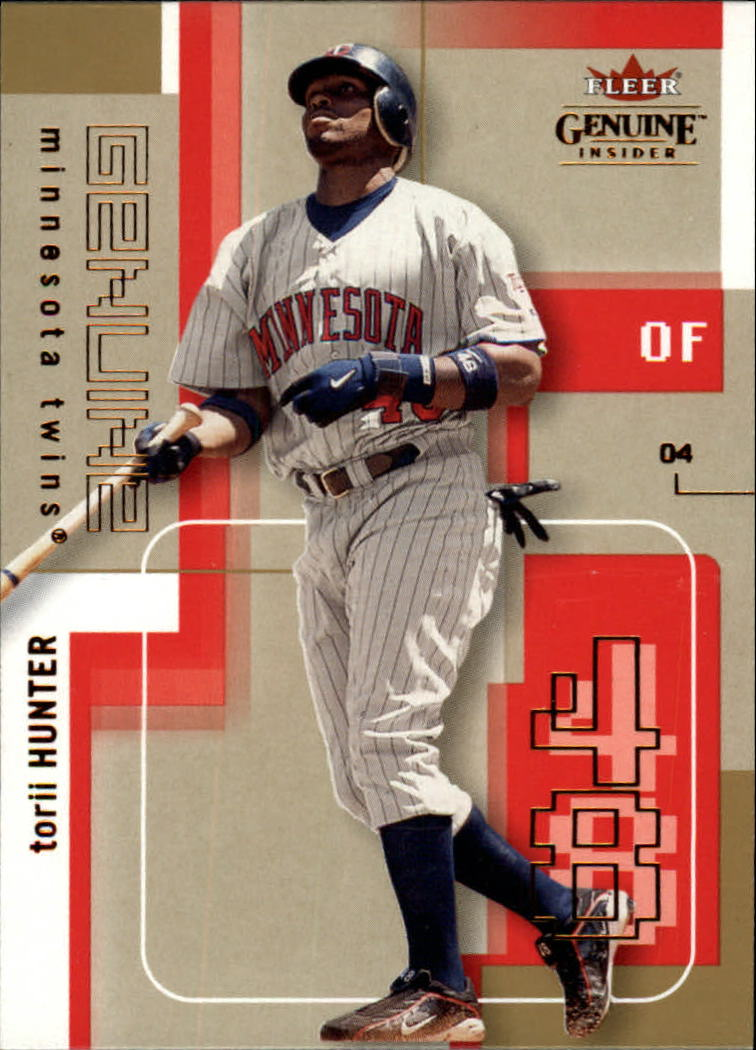 2004 Fleer Genuine Insider #88 Torii Hunter