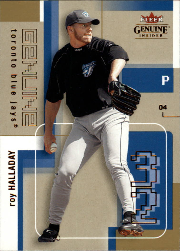 2004 Fleer Genuine Insider #90 Roy Halladay