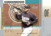 2004 Fleer Genuine Insider Autograph-Bat #MC Miguel Cabrera