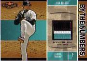 2004 Fleer Patchworks By the Numbers Patch #JB Josh Beckett