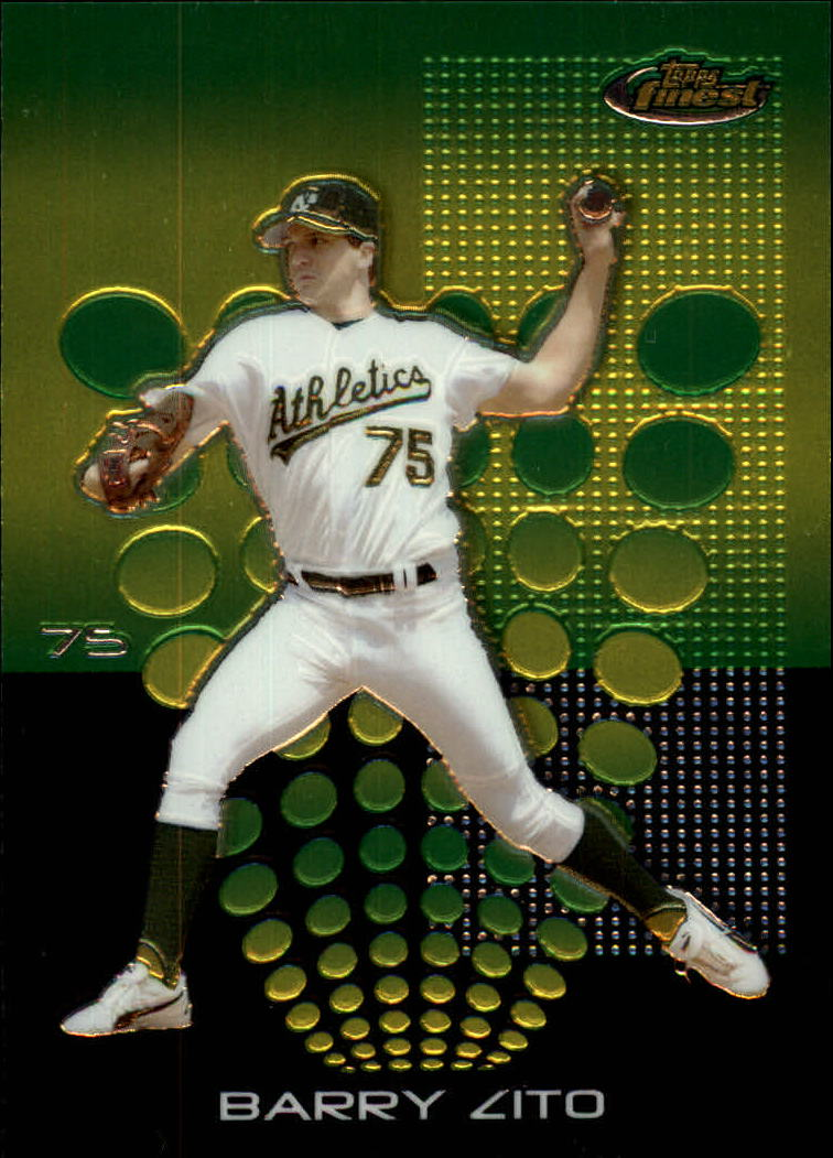 2004 Finest #36 Barry Zito