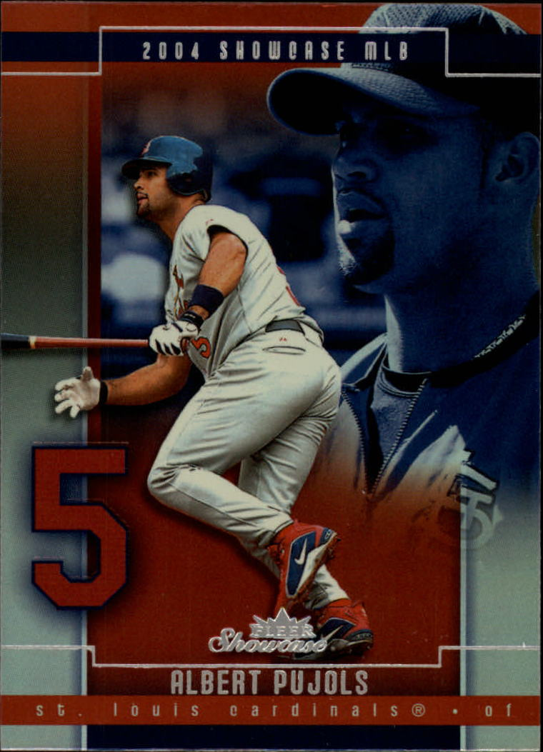 2004 Fleer Showcase #86 Albert Pujols