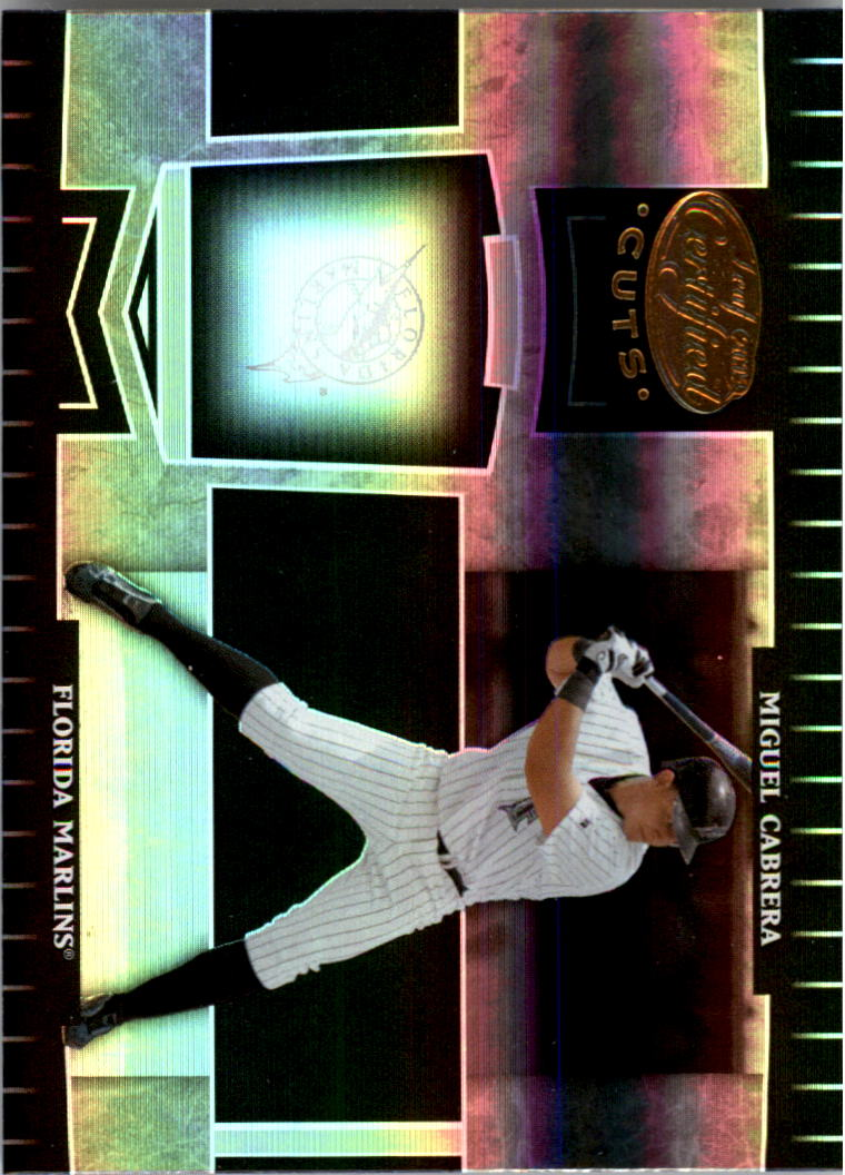 2004 Leaf Certified Cuts #77 Miguel Cabrera