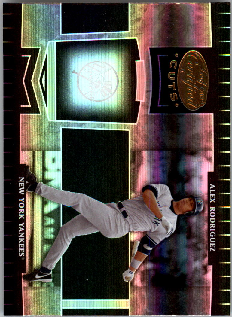 2004 Leaf Certified Cuts #137 Alex Rodriguez