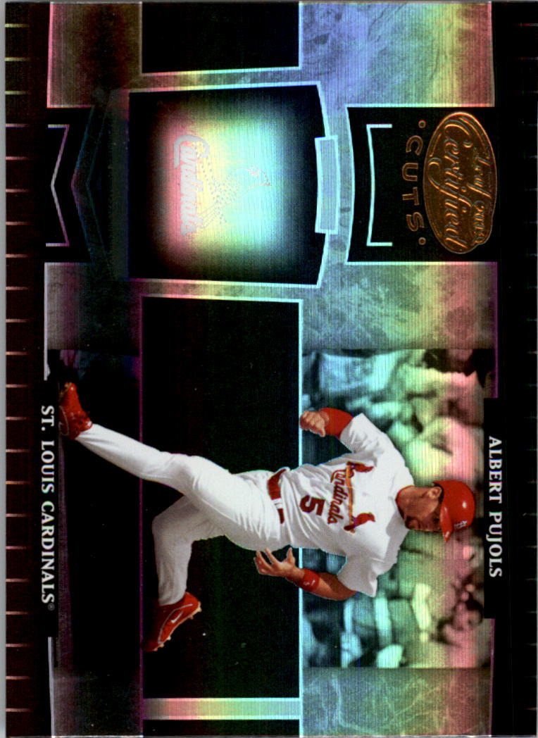 2004 Leaf Certified Cuts #179 Albert Pujols