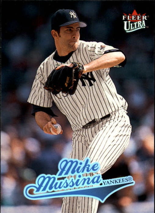 2004 Ultra #34 Mike Mussina