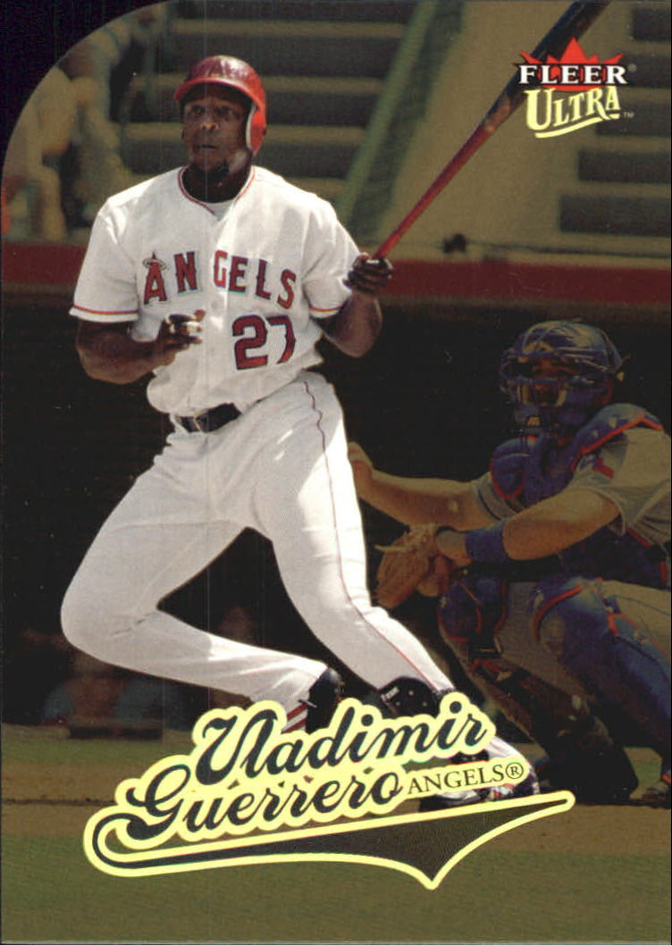 2004 Ultra Gold Medallion #221 Vladimir Guerrero