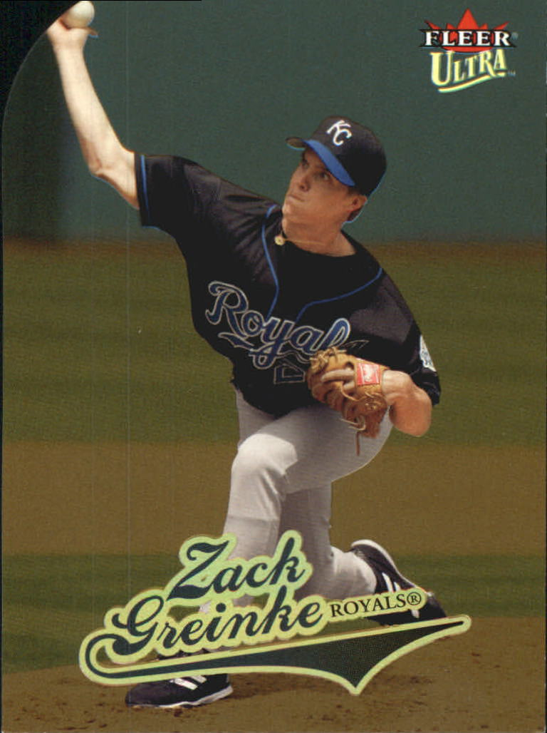 2004 Ultra Gold Medallion #269 Zack Greinke