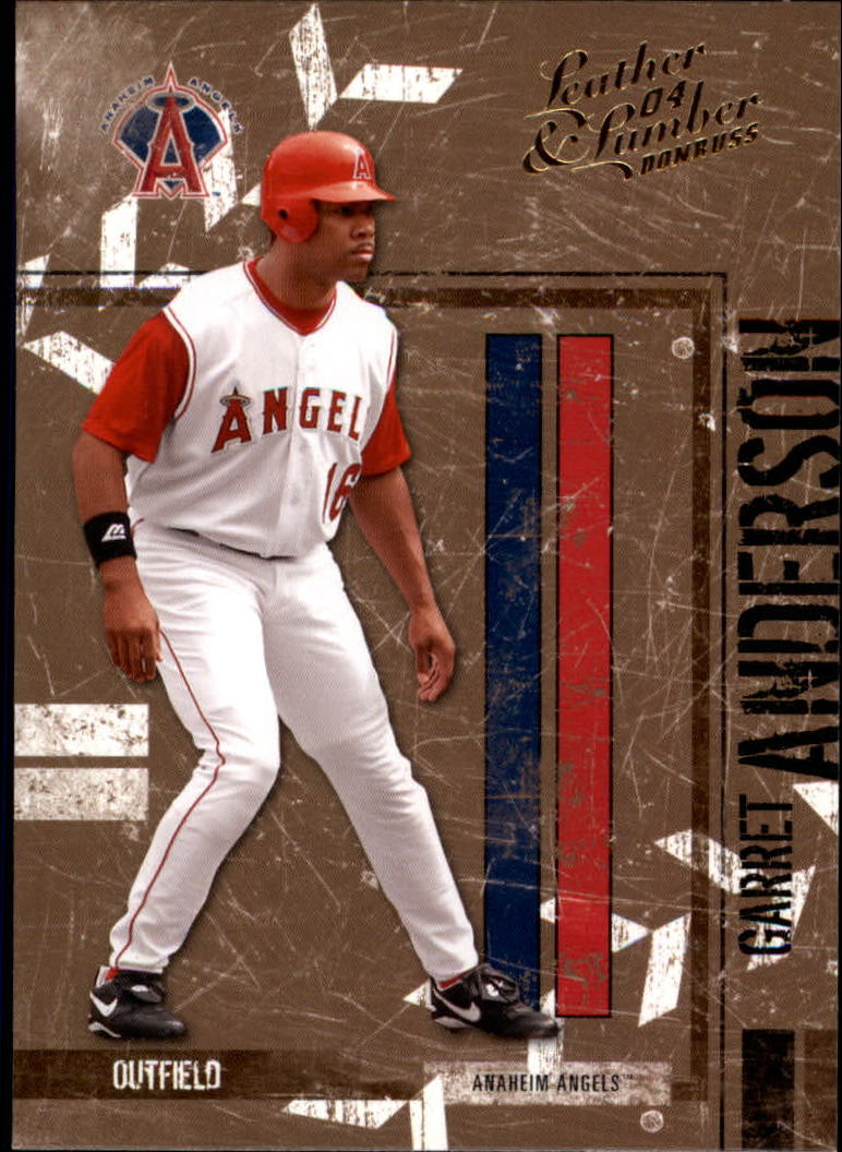 2004 Leather and Lumber #2 Garret Anderson