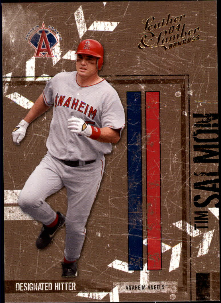 2004 Leather and Lumber #3 Tim Salmon